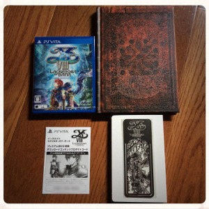 Ys VIII - Limited Premium Box Contents