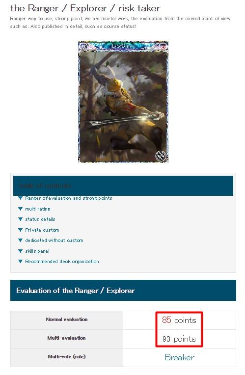 Mobius Final Fantasy - Ranger Rating on the Altema wiki