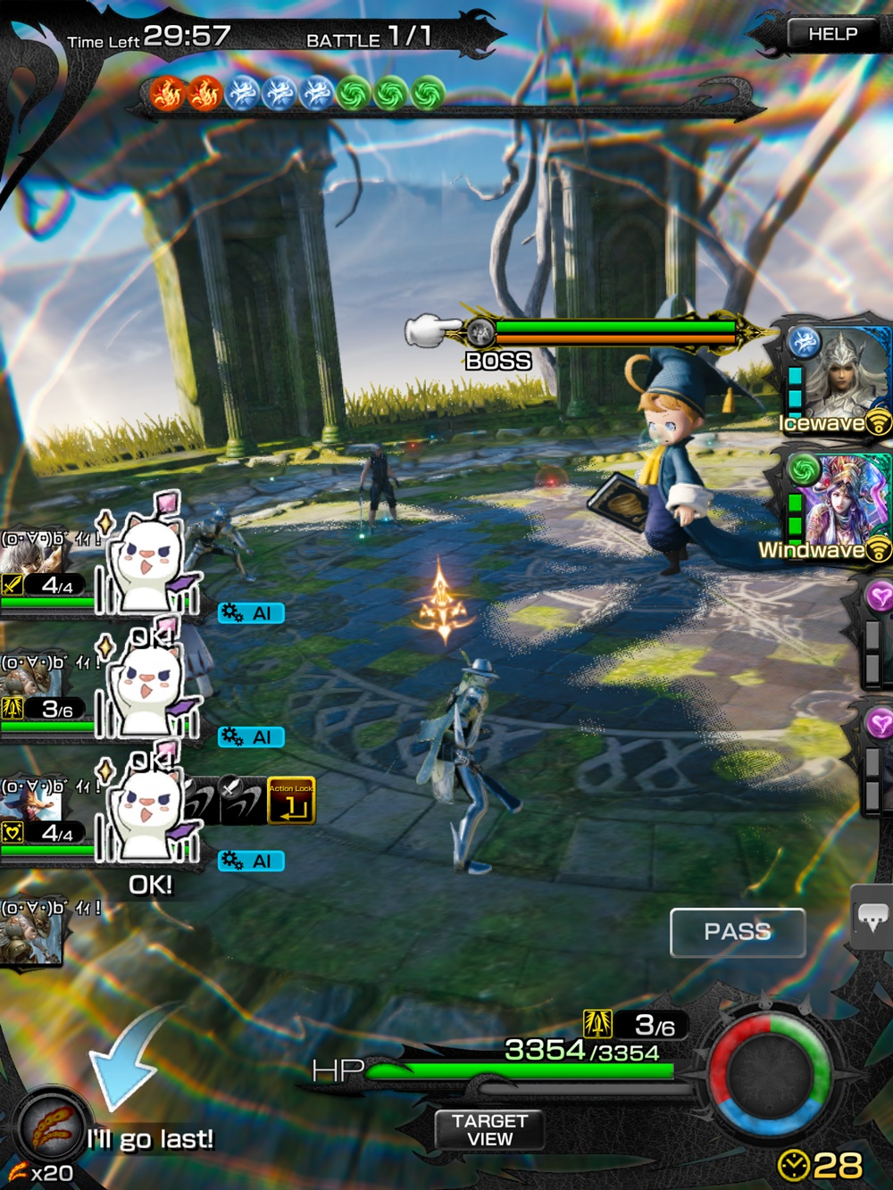 mobius final fantasy global multiplayer observations general