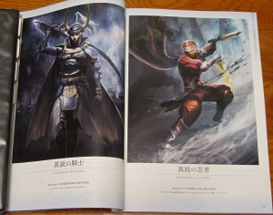 Mobius Final Fantasy First Anniversary Collections - Knight of Heresy and Ninja of Heresy