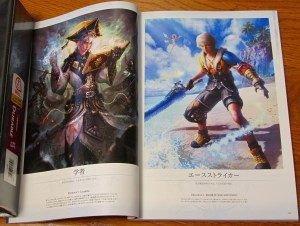 Mobius Final Fantasy First Anniversary Collections - Scholar and Ace Striker