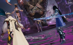 Mobius Final Fantasy - Wol & Meia prepare to fight Anima