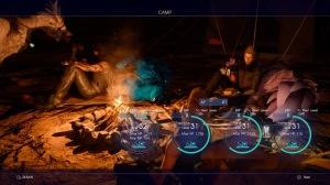 Final Fantasy XV - Camp with Chocobos