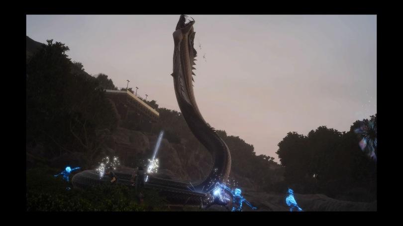 Final Fantasy XV - Midgardsormr