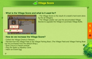 Tiny Farm - Village Score Help