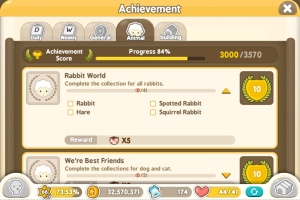 Tiny Farm - Rabbits and Hare Achievement
