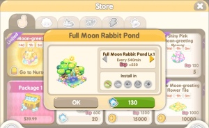 Tiny Farm - Mid-Autumn Festival Event 2017 - Full Moon Rabbit Pond