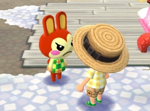 Animal Crossing: Pocket Camp - Bunnie isn't taking your shit