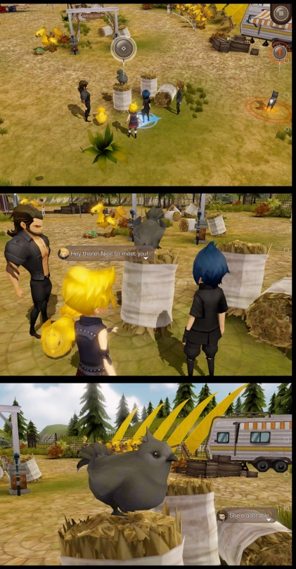Final Fantasy XV: Pocket Edition - Black chocobo chick