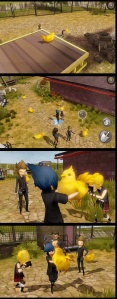 Final Fantasy XV: Pocket Edition - Chocobo chicks
