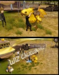 Final Fantasy XV: Pocket Edition - Chocobo hug