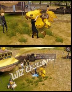Final Fantasy XV: Pocket Edition - Chocobo hug