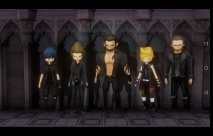 Final Fantasy XV: Pocket Edition - Creepy Cor