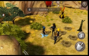 Final Fantasy XV: Pocket Edition - Digging holes