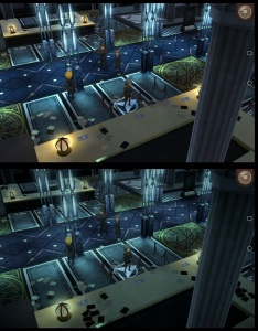 Final Fantasy XV: Pocket Edition - Graphics comparison